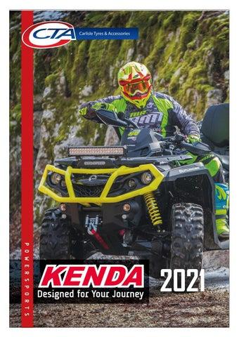 "Cover of ""KENDA POWERSPORTS AUSTRALIA CTA 2021"""