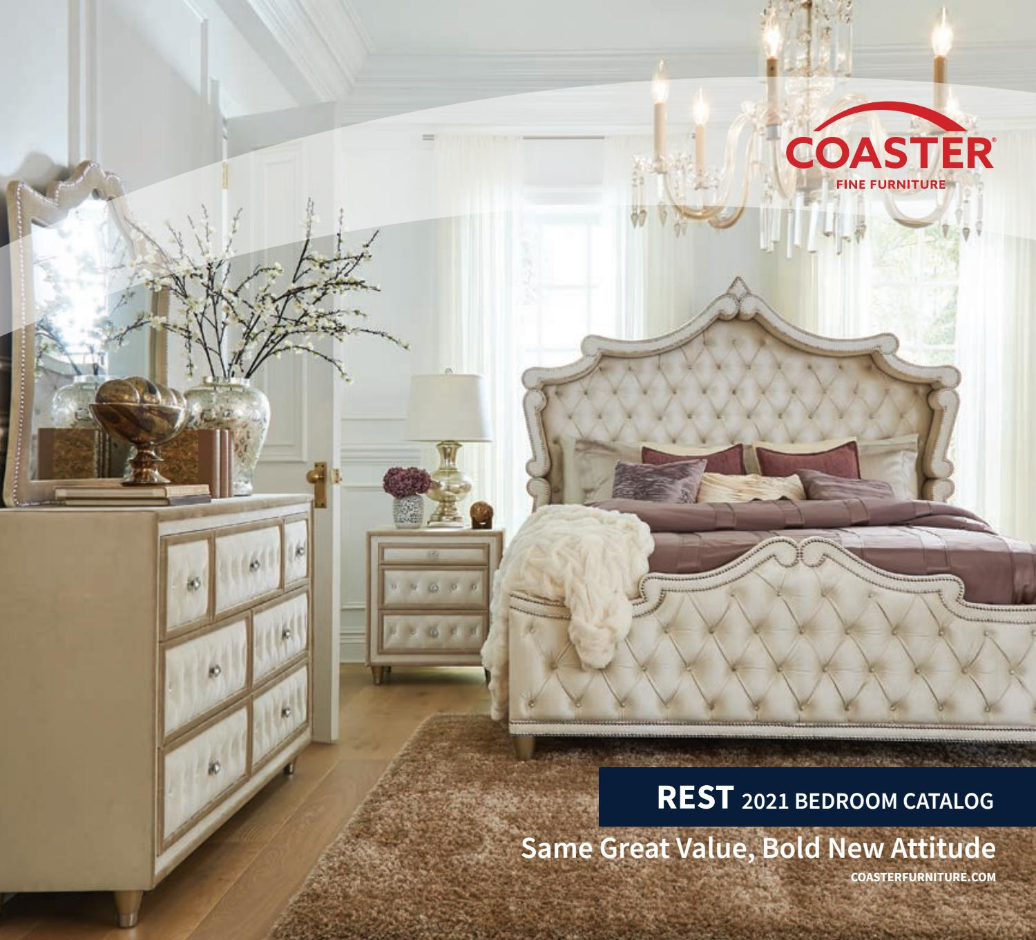 Coaster 2021 Bedroom Catalog By Coaster Company Of America Issuu Download coaster bedroom furniture