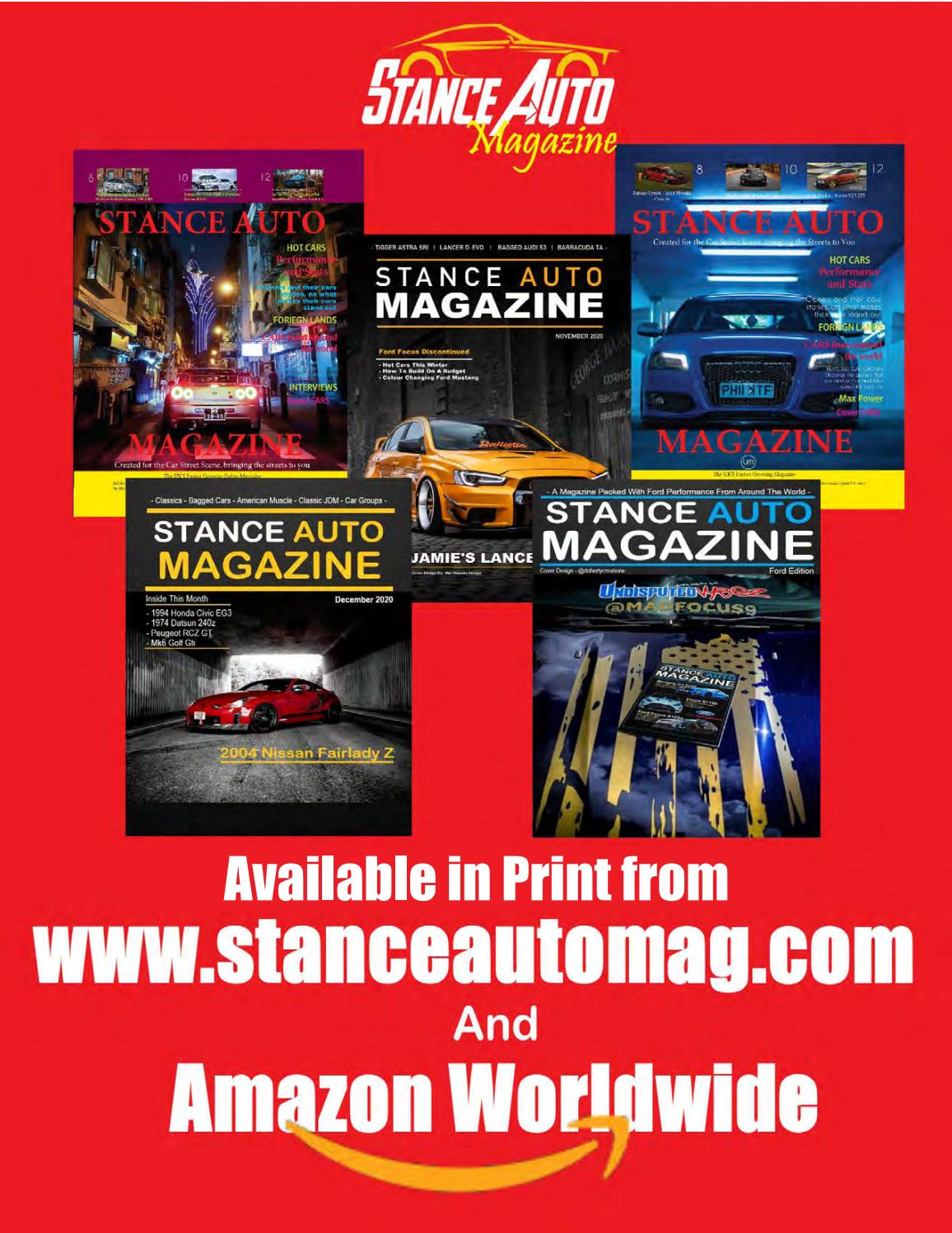Stance Auto Magazine Entire Collection From 2020 By Stance Auto Magazine Issuu
