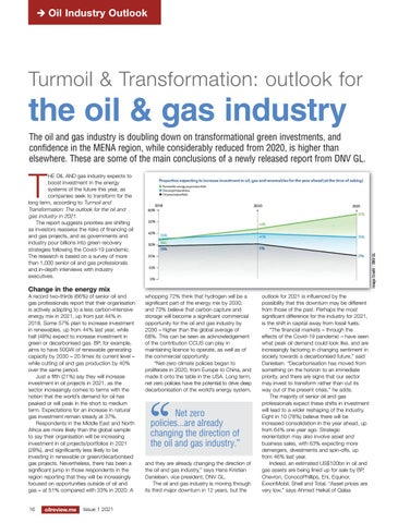 Turmoil & Transformation: outlook for the oil & gas industry