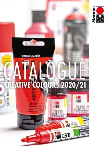 Aentep. Κατάλογος «Marabu Creative Catalogue» 2020 - 2021