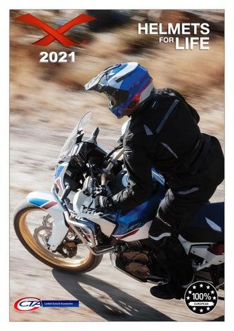 """Cover of """"CTA X-HELMETS 2021 CATALOGUE"""""""