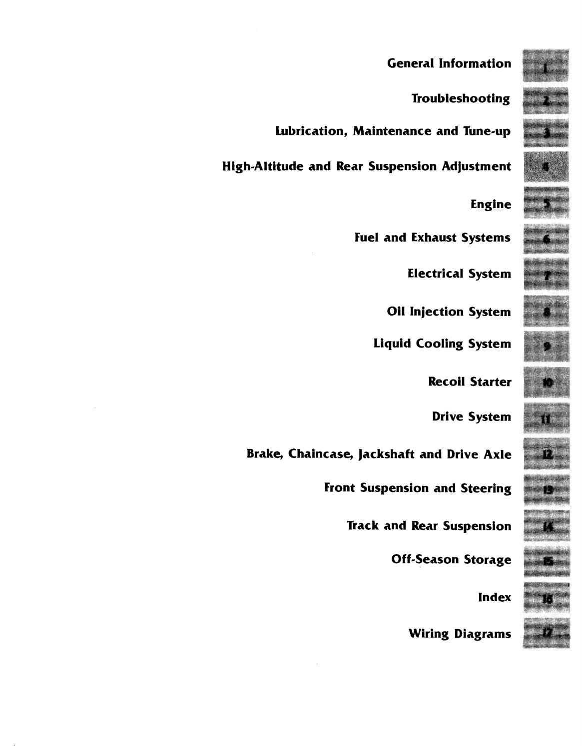 1985-1989 Ski Doo Snowmobile Repair Manual - PDF DOWNLOAD by ...