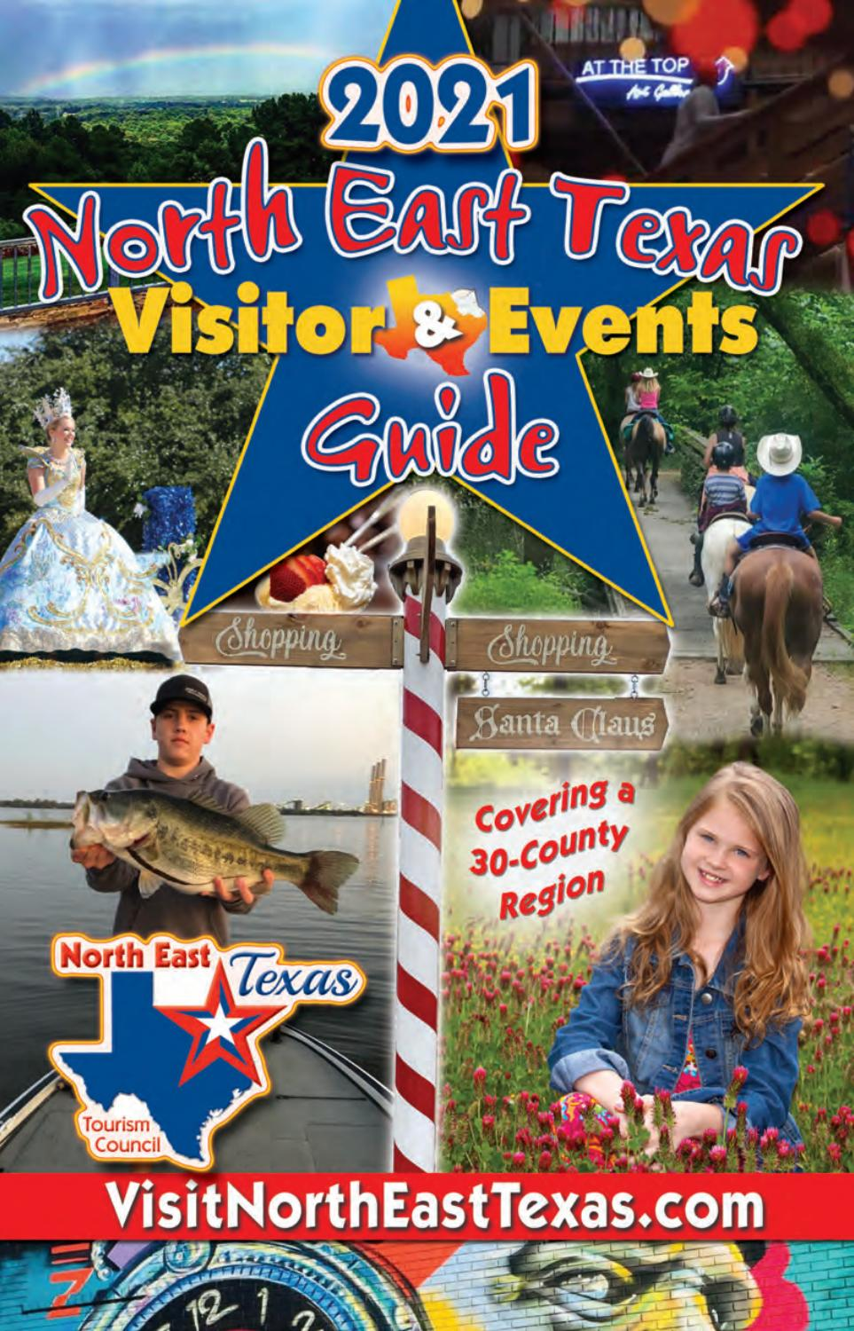 Marshall Tx Christmas Parade Route 2021 North East Texas Visitor Events Guide 2021 By Richardson Media Publishing Issuu