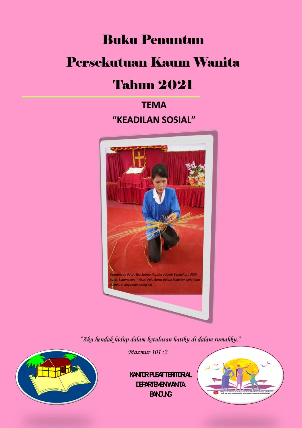 Buku Penuntun Persekutuan Kaum Wanita Juli Dec 2021 By Bala Keselamatan Issuu