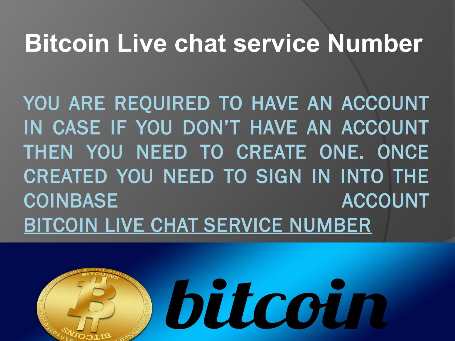 bitcoin live chat