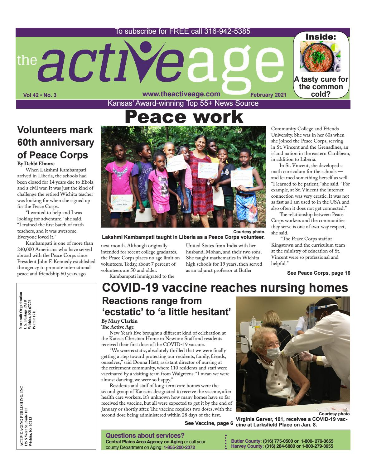 Free Christmas Dinner 2021 In Wichita Ks For The Poor February 2021 By The Active Age Issuu