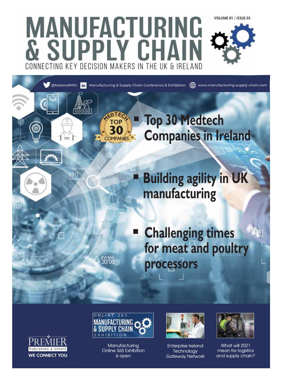 Manufacturing & Supply Chain Vol 21 Issue 21 by Colin Murphy   issuu