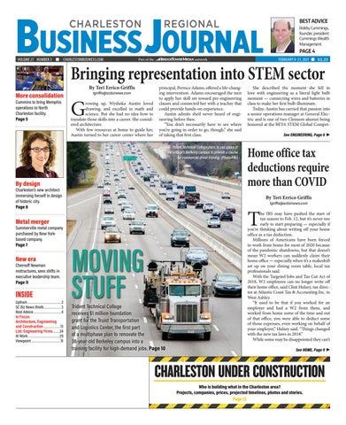 Christmas Donation Drives Charleston Sc 2021 Charleston Regional Business Journal February 8 2021 By Sc Biz News Issuu