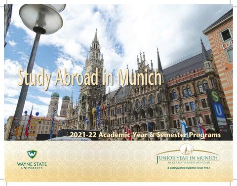 Lmu Calendar 2022.2021 2022 Jym Brochure By Junior Year In Munich Issuu