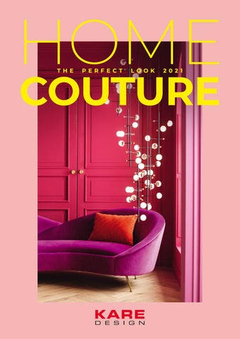 KARE Cyprus. Κατάλογος «Home Couture - The Perfect Look 2021»