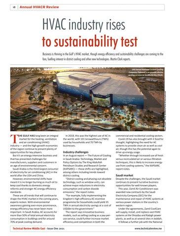 HVAC industry rises to sustainability test