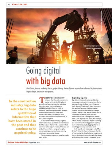 Going digital with big data