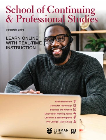 Lehman College SCPS Spring 2021 Catalog by Lehman College, SCPS