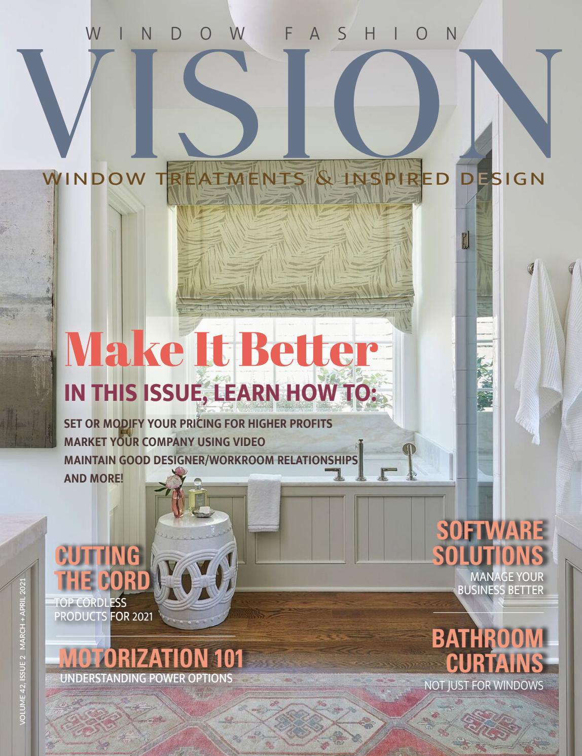 Window Fashion VISION March + April 12 by Window Fashion Vision ...