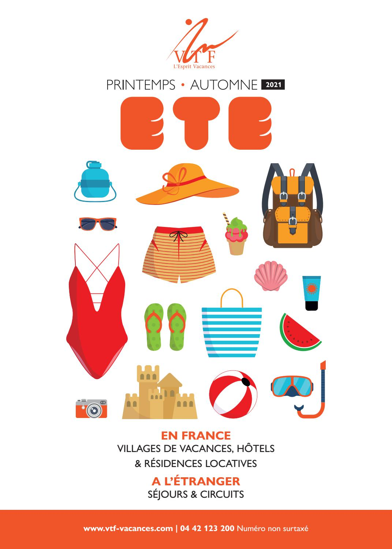 Brochure VTF Eté 40 by VTF L'Esprit Vacances   issuu