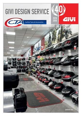 "Cover of ""CTA - GIVI SHOP DISPLAY CATALOGUE 2021"""
