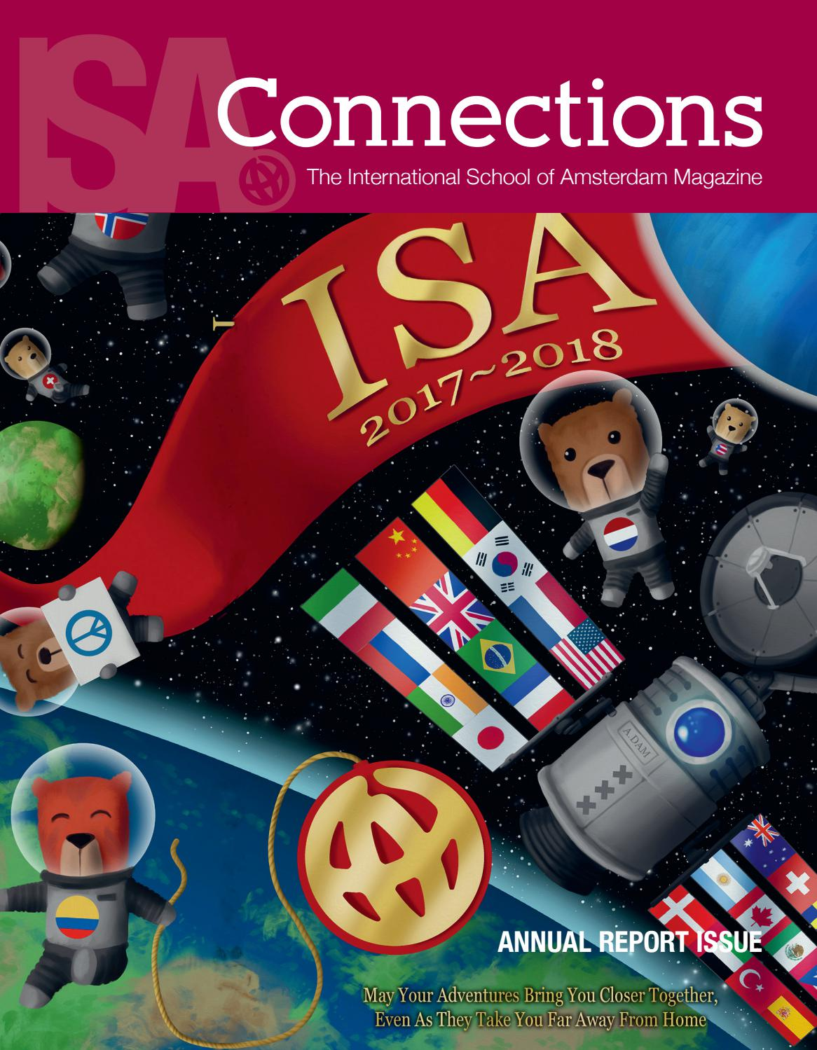 ISA Connections Issue 20 by The International School of Amsterdam ...