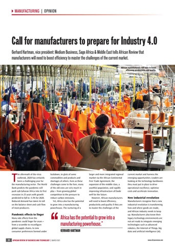 Call for manufacturers to prepare for Industry 4.0