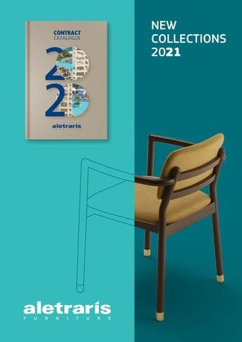Aletraris Furniture. Contract Catalogue 2021. For Hotels & Restaurants