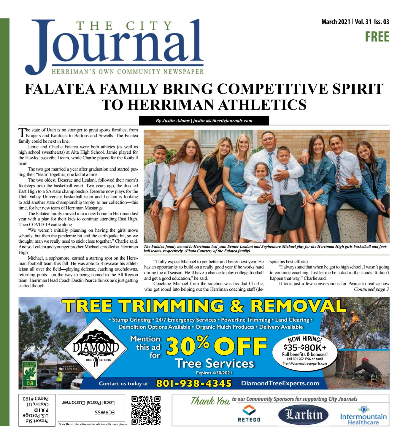 Herriman Journal March 2021 By The City Journals Issuu