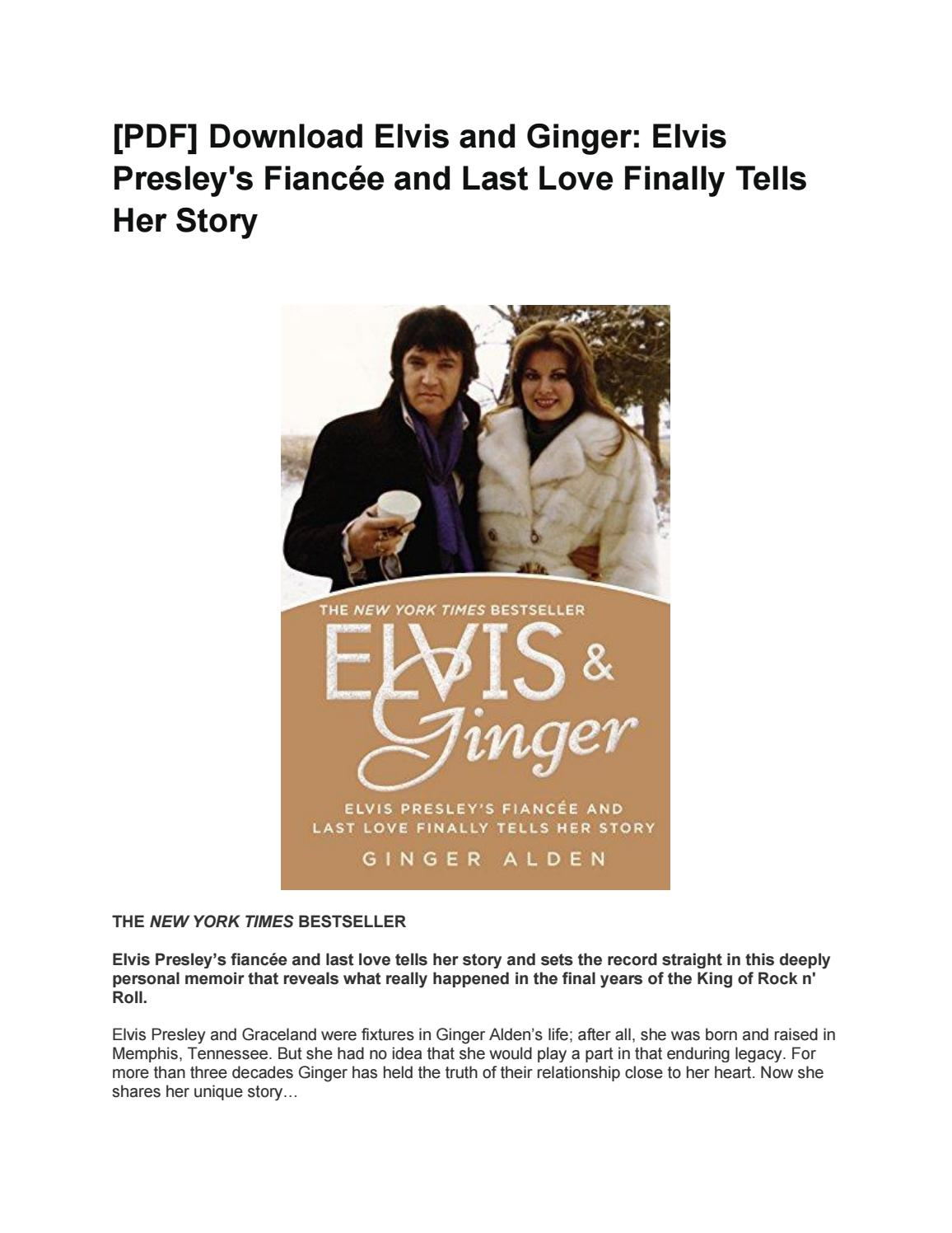 Elvis And Ginger PDF Free Download