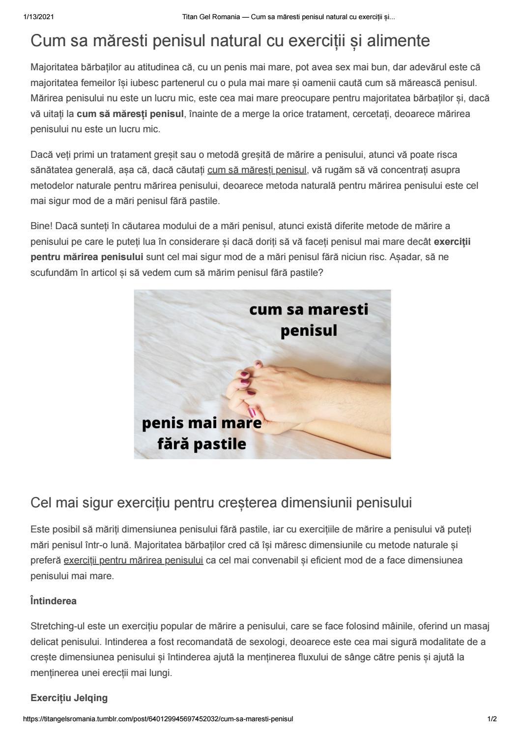 cum să vă măriți penisul într  o zi)