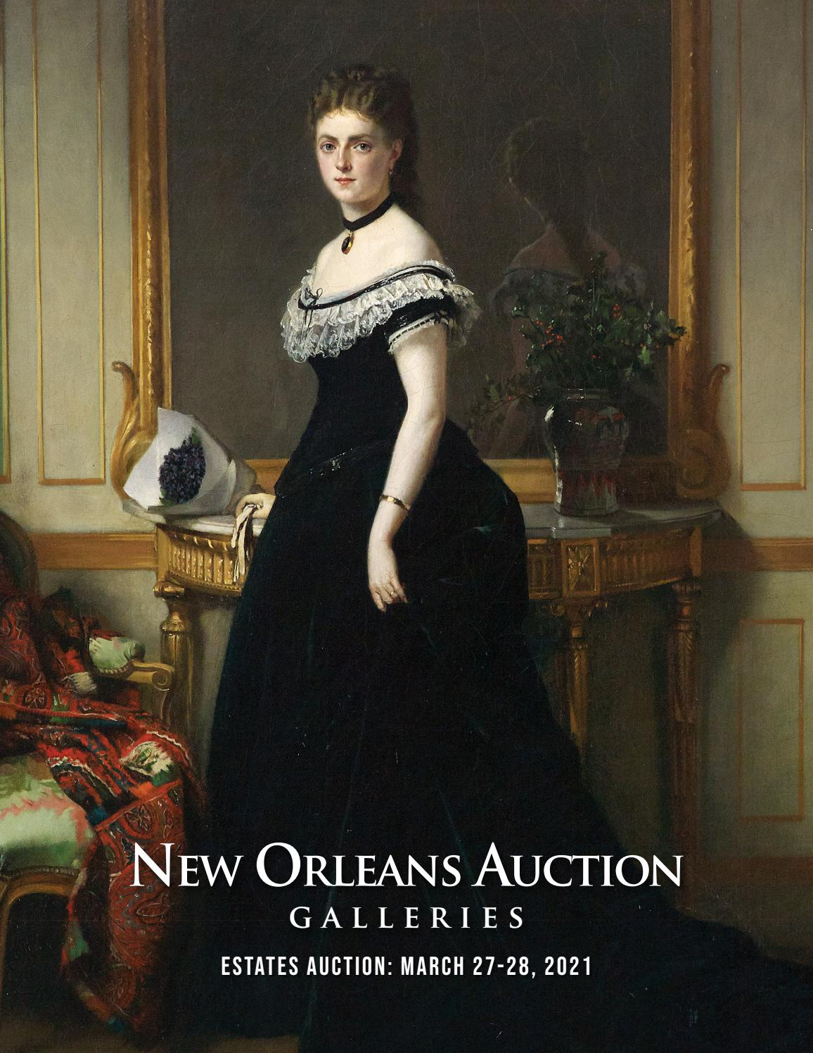 March 32 32, 32 Estates Auction by New Orleans Auction Galleries ...