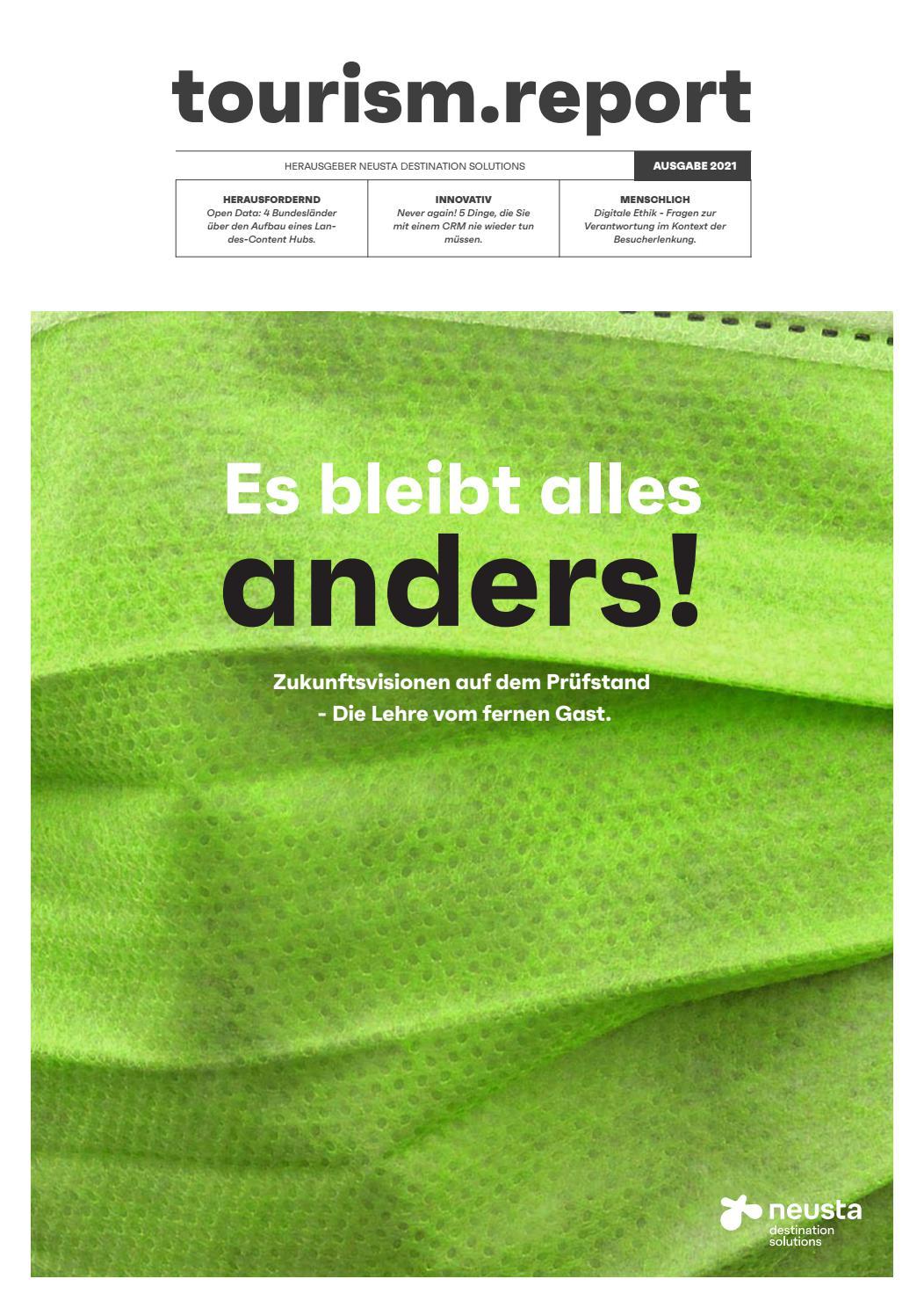 tourism.report 20 by neusta destination solutions GmbH   issuu