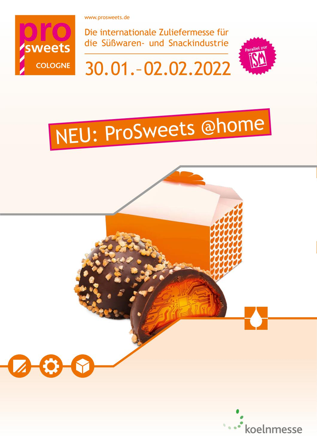 ProSweets Cologne Salesfolder DE by Koelnmesse GmbH - issuu