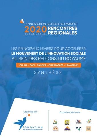 la rencontre régionale de l'innovation sociale