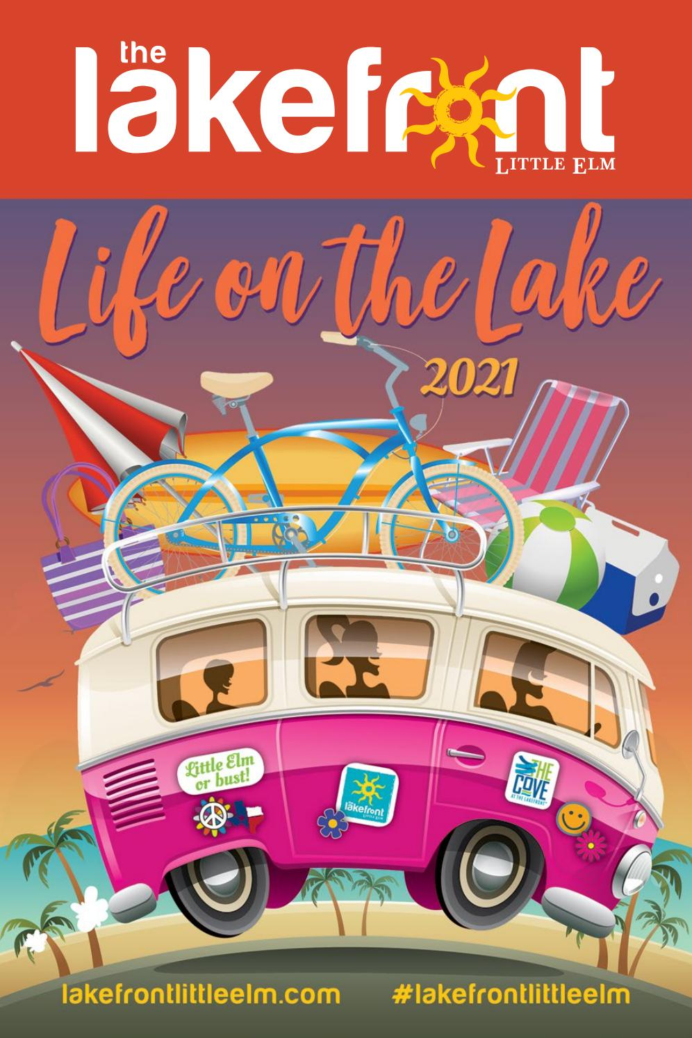 2021 Lakefront Map By Town Of Little Elm Issuu