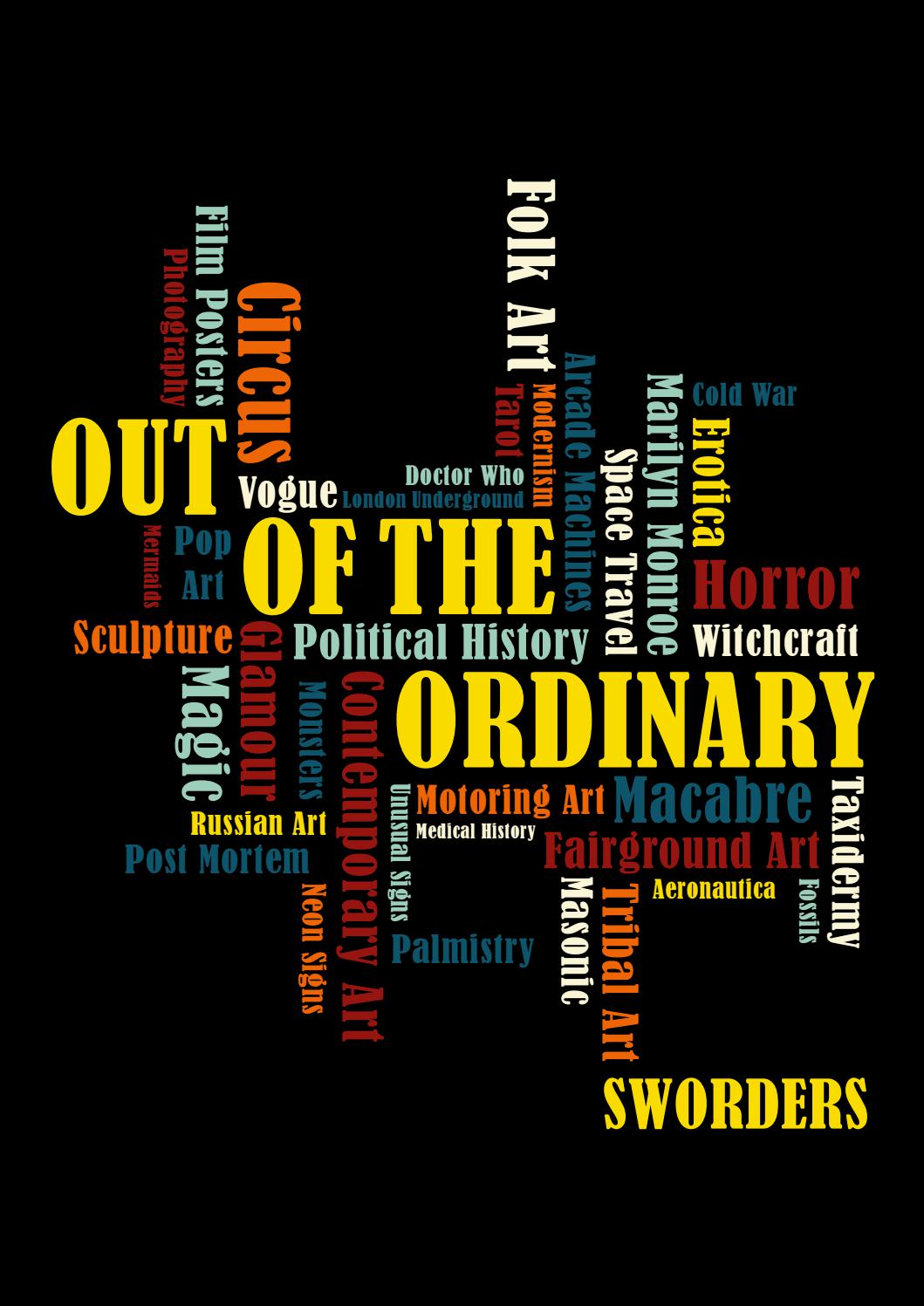 Out Of The Ordinary Tuesday 13 Wednesday 14 April 10am By Swordersfineart Issuu