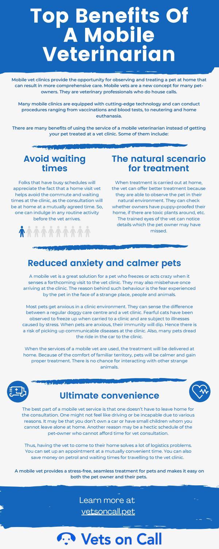 Top Benefits Of A Mobile Veterinarian