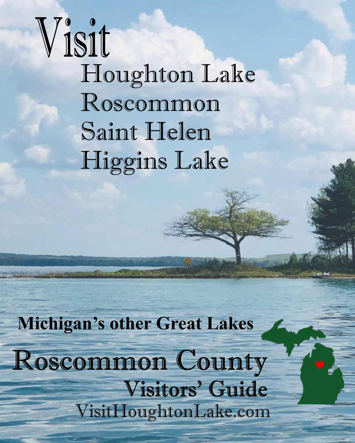 2021 Roscommon Christmas Walk Houghton Lake Area Tourism Bureau 2021 Magazine Visitor S Guide By Up North Voice Issuu