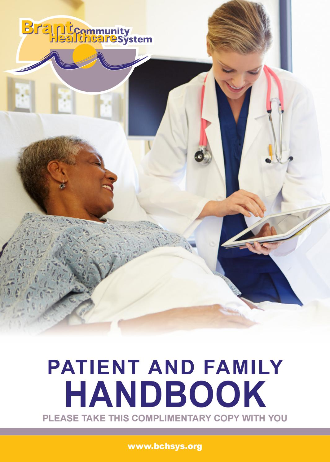 Brantford General Hospital Patient And Family Handbook By Willow Publishing Issuu