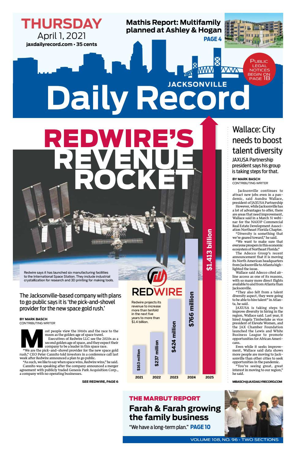 Jacksonville Daily Record 20/20/220 by Daily Record & Observer LLC ...