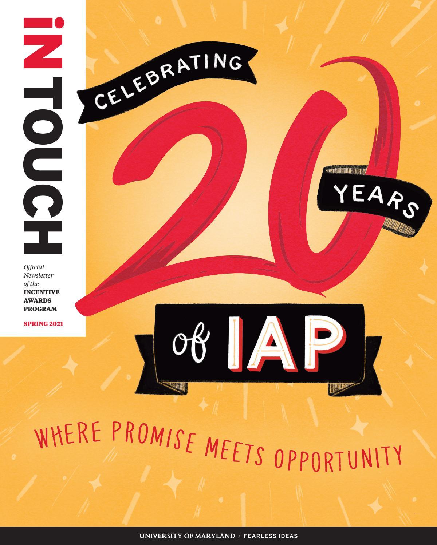 Umd 2022 Calendar.Intouch Umd Incentive Awards Program Spring 2021 By University Of Maryland Issuu