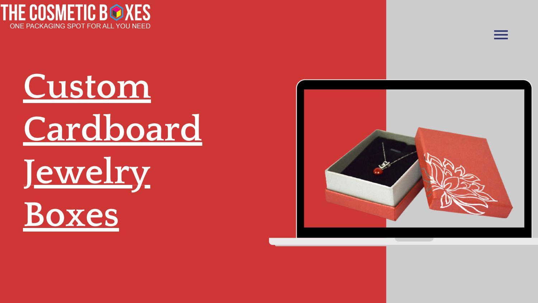 Custom Cardboard Jewelry Boxes
