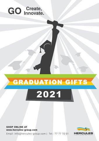 Hercules Group. Κατάλογος «Graduation Gifts 2021»