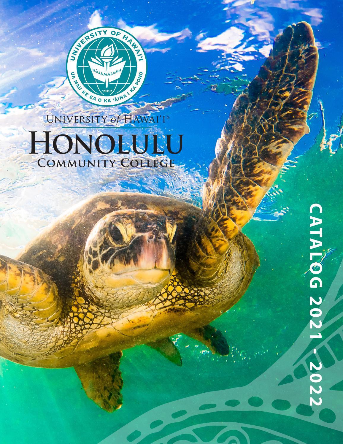 Uh Hilo Spring 2022 Calendar.2021 2022 College Catalog By Honolulu Community College Issuu