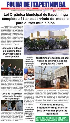 Folha de Itapetininga 06/04/2021 (Terca-feira)