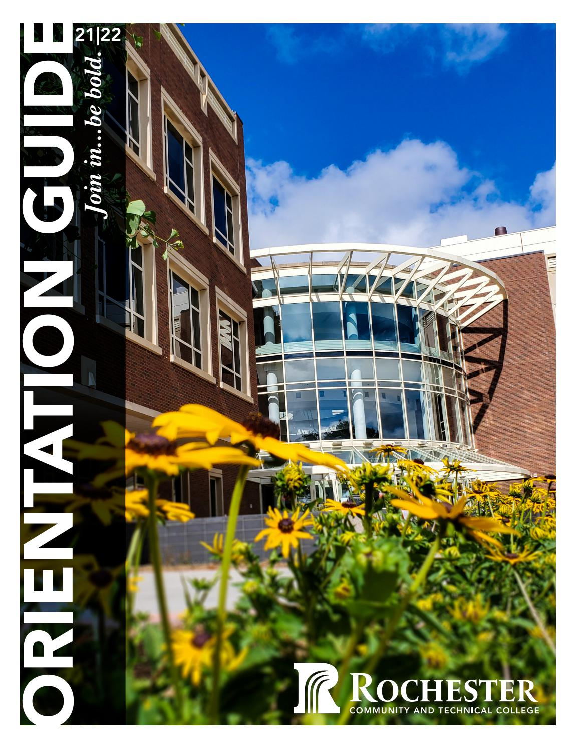 University Of Rochester Academic Calendar 2022.2021 2022 Rctc Orientation Guide By Rochester Community And Technical College Issuu