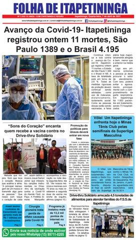 Folha de Itapetininga 07/04/2021 (Quarta-feira)