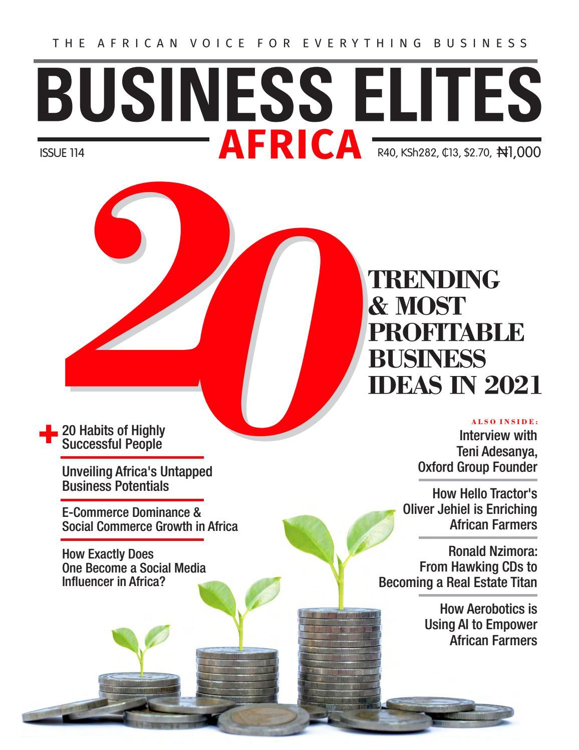 biznesa idejas 2021