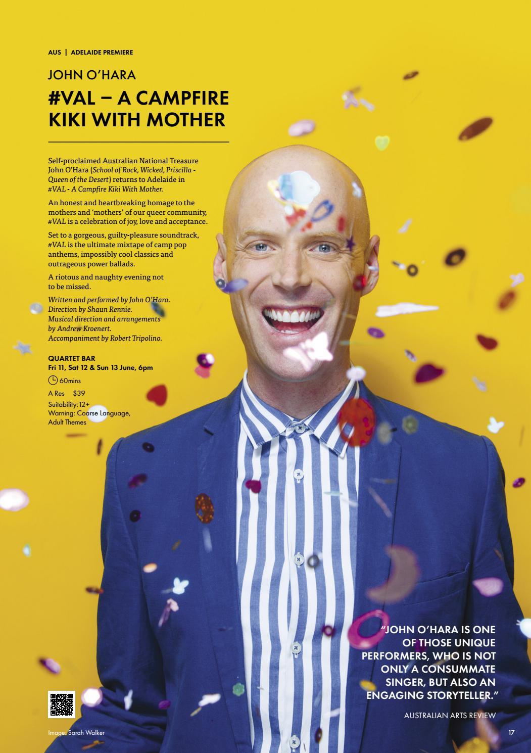 Adelaide Cabaret Festival 2021 Brochure page 17