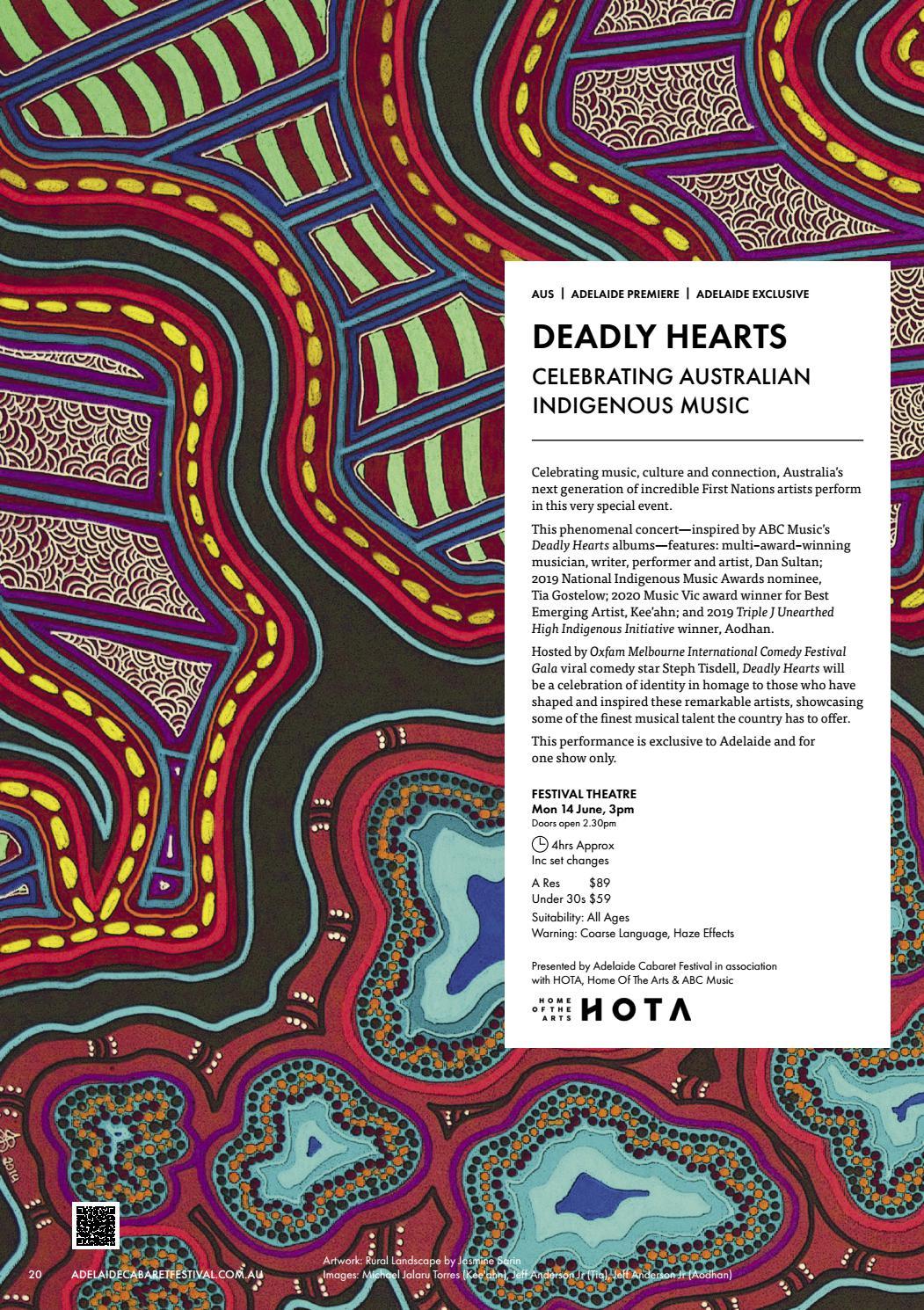 Adelaide Cabaret Festival 2021 Brochure page 20