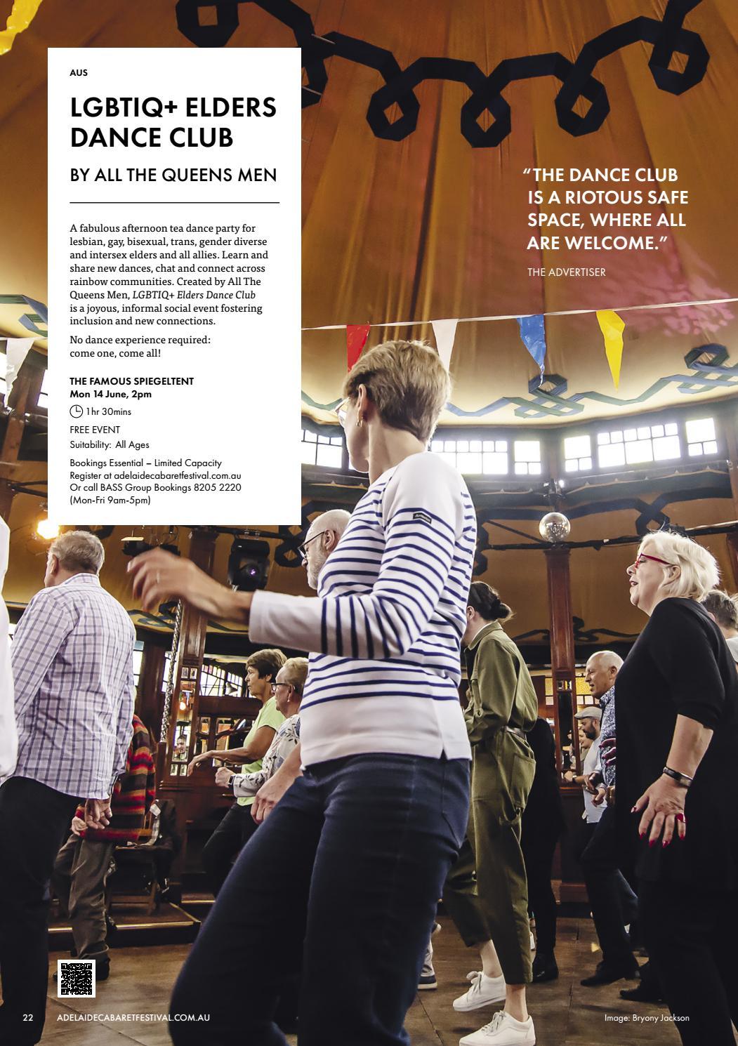 Adelaide Cabaret Festival 2021 Brochure page 22