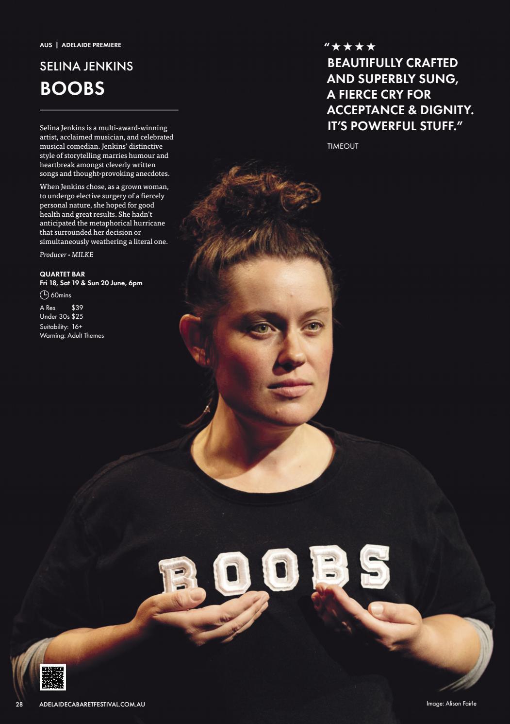 Adelaide Cabaret Festival 2021 Brochure page 28
