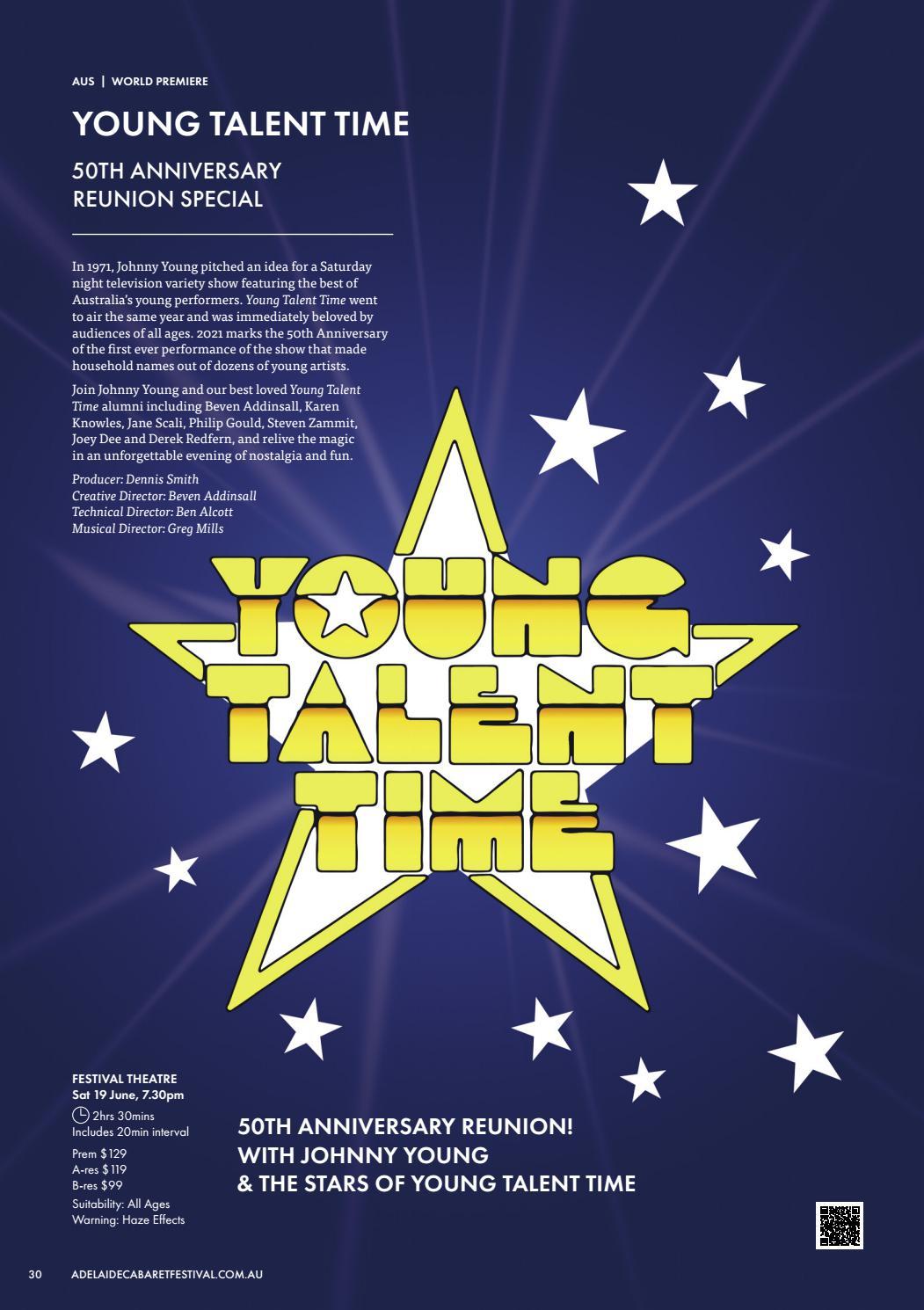 Adelaide Cabaret Festival 2021 Brochure page 30